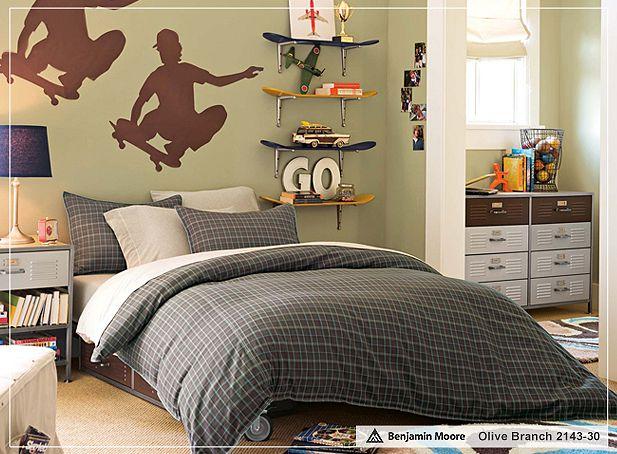 The boo and the boy teen boys 39 rooms for Boys skateboard bedroom ideas