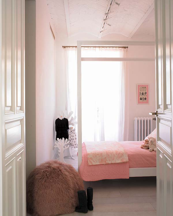 The Boo And Boy Pale Pink Walls In Girls Rooms