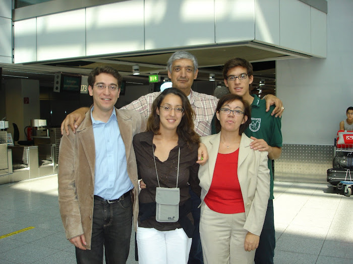 My family before departure