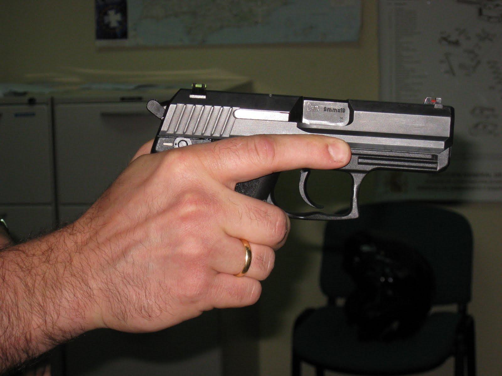 Tiro policial y tactico - Pistola para lacar ...