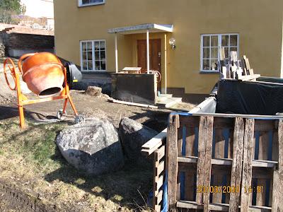 Färdigblandad betong