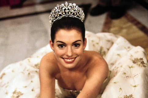 "as Mia Thermopolis in ""The Princess Diaries"""