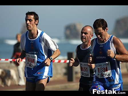 Donibane Lohitzune - Hondarribia maratoi erdia 2008