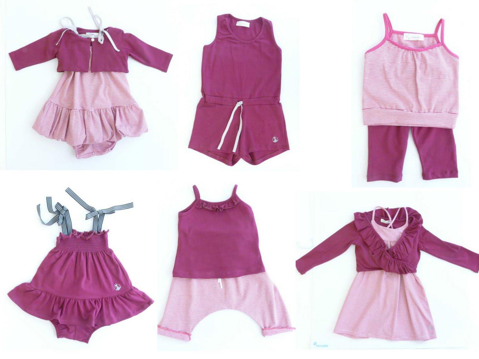 Bambalinas dise o en moda infantil diferencial y primera - Diseno ropa infantil ...