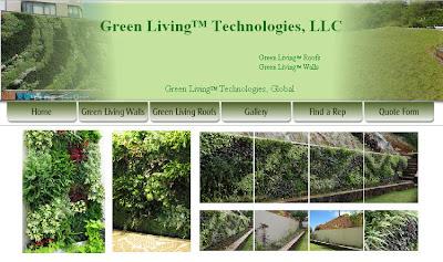paredes y techos verdes