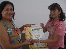 ENTREGA DE CERTIFICADOS COMO PROMOTORES SOCIALES COMUNITARIOS POR EL INCES