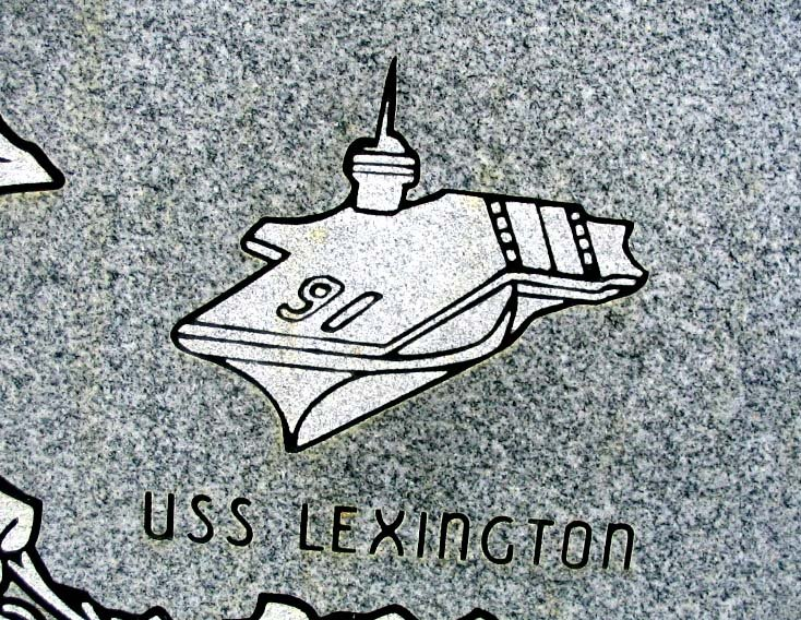 [uss+lexington+(oaklawn+mem)]