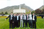 A group of missionaries, all very cute