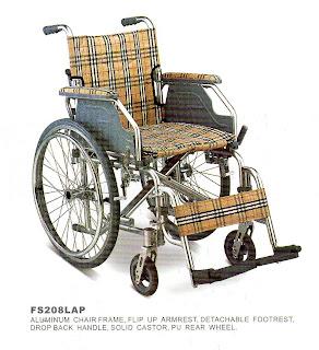 Ortopedia pando silla de ruedas de aluminio - Ortopedia silla de ruedas ...