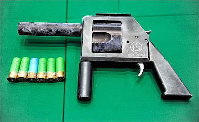12 gauge pistol