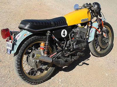 yamaha RD400 rat racer