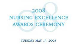 Sickkids Nursing Centre Excellence Awards 2008