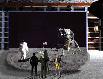 moon landing hoax studio - photo #2