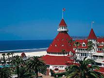 Hotel Del on Coronado Island!