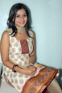 cute ramya nambaseen latest hot stills in dress