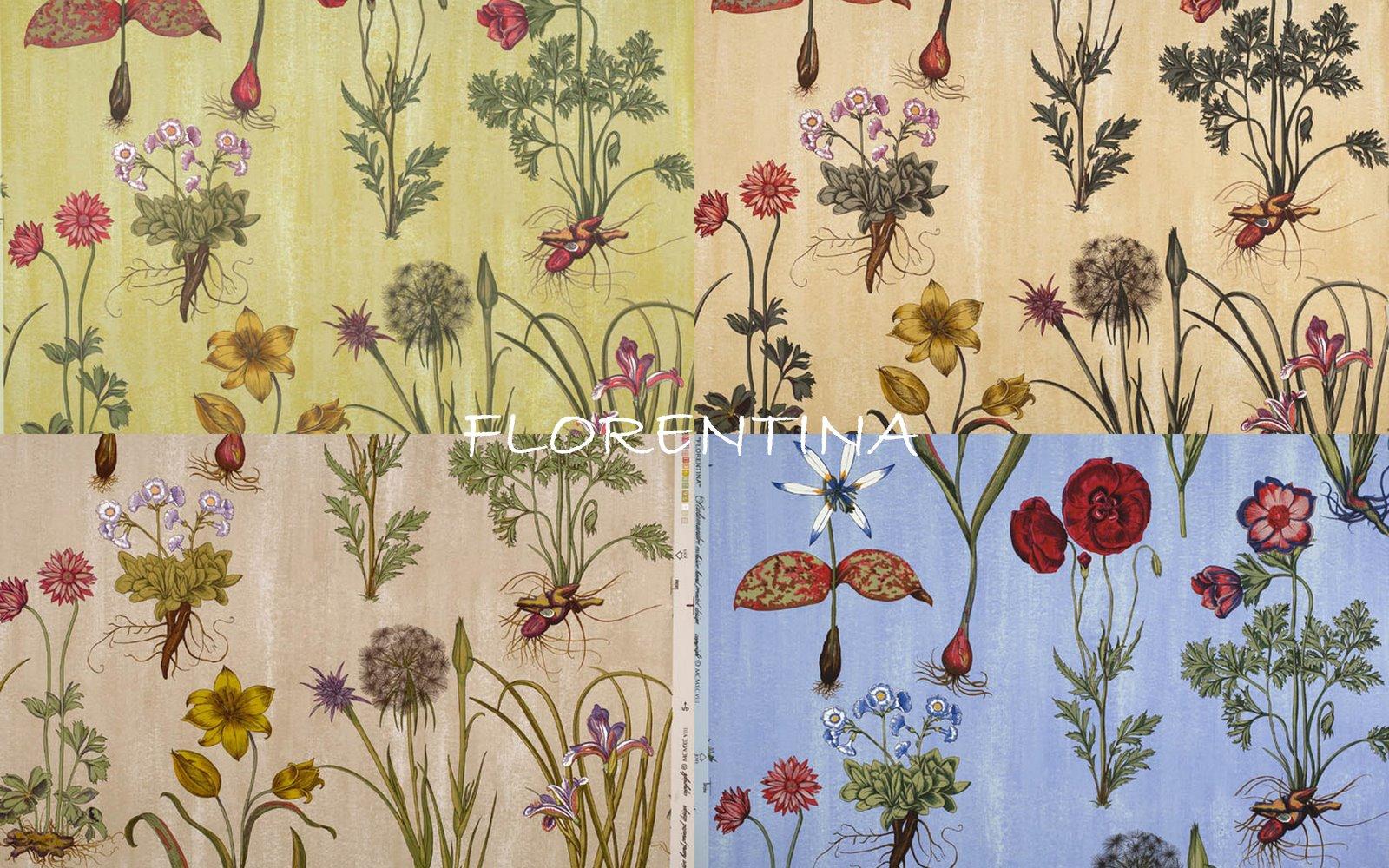 Botanical Wallpaper Patterns