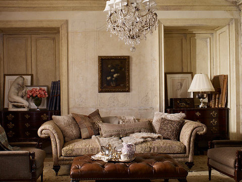 Victoria dreste designs ralph lauren the heiress collection for Ralph lauren living room designs