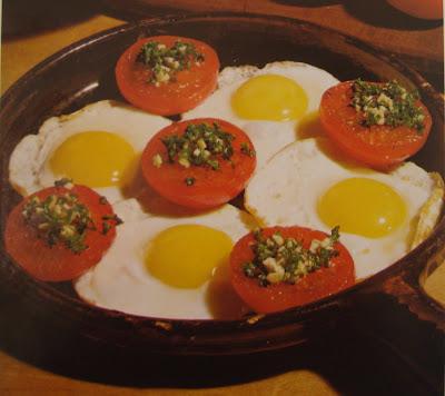 Huevos al Plato a la Provenzal