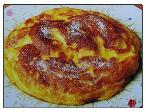 Tortilla Flameada al Ron