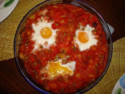 Huevos a la Flamenca