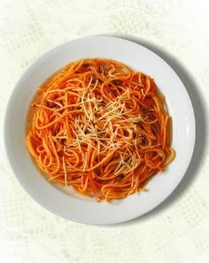 Tallarines  a la Italiana