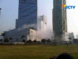 Explosion at Ritz Carlton dan JW Marriot