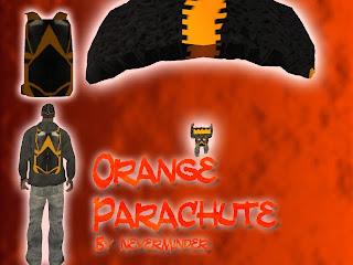 [MOD] Paraquedas Orange+parachute