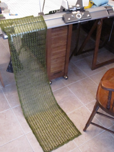 knitting machine projects