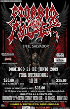 Morbid Angel En El Salvador