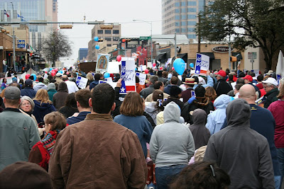 crowd1 A day at the Texas March for Life