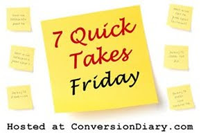 7 quick takes sm 7 Quick Takes Friday (vol. 94)