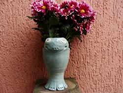 Sapo c/ flores