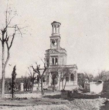 Ruinas de La Iglesia y el Asilo de Santa Cristina