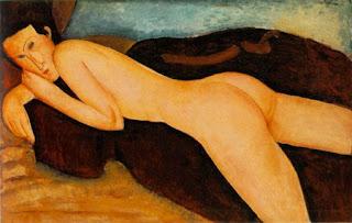 Calentitos los panchos (poesía erótica & afines) Desnudo+de+espaldas+Modigliani