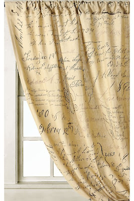 Newly Domesticated: Love Letter curtains from Anthropologie