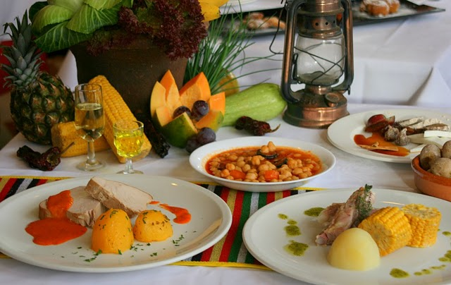 Bortgjemte kanariske matsteder
