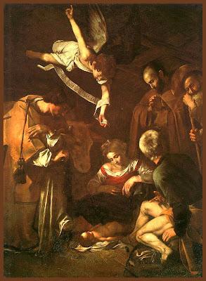 Caravaggio-Natività 1609