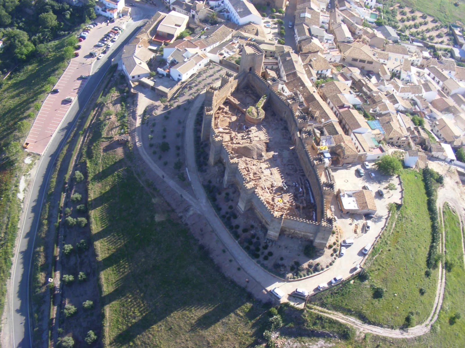 Yacimientos en al andalus castillo de burgalimar ba os de la encina ja n - Castillo de banos de la encina ...
