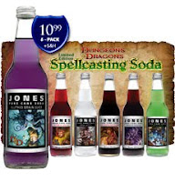 Dungeons and Dragons Spellcasting Jones Soda