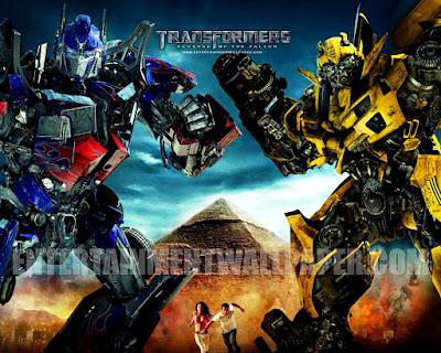 Transfoermers 2 Revenge of the Fallen, Michael Bay, Sam, Mikayla, Shia Labeouf, Megan Fox, Bumblebee, Megatron, Optimus Prime, Autobots, Decepticons