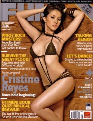 Cristine Reyes, FHM, 100 sexiest women of philippines, FHM sexiest, marian rivera, angel locsin, katrina halili, bangs garcia, ehra madrigal, iwa moto