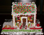 Our 2008 Gingerbread House