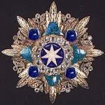 The Grand Star Of The Grand Order Of the Republic Of Neues Sudland