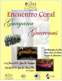 Encuentro Coral Guayana Guarenas