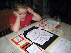 Playing with Happy Haunting lapbook