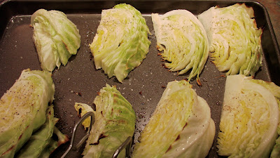 Uncommon Artistic Endeavors: Oven Roasted Cabbage Wedges