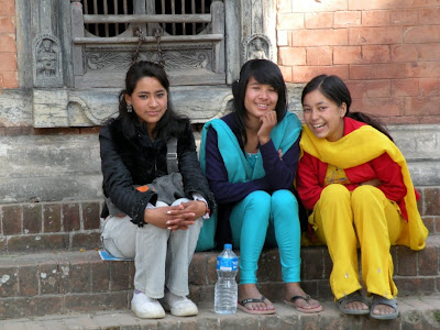 Nepal Fashion Bloggers on The World Around  Nepali Girls