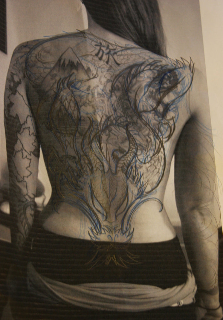 Full Back Tattoos For Men and Women