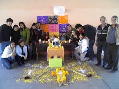 Nuestro altar de muertos
