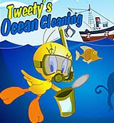 Tweety ocean cleaning